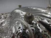 Antique Silver Shell Dish - Sheffield 1901 (2 of 6)