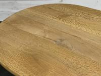 French Bleached Oak Monastery Dining Table (30 of 30)