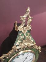 Antique French Boulle 8 Day Mantel Clock (7 of 8)