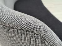 "Danish Sofa, Kurt Olsen Model 220 ""Banana"", Completely Renovated, 60s, Teak, Furniture Wool (10 of 15)"