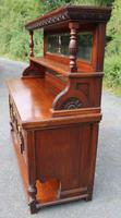 1920s Large Mahogany Aesetic Style Sideboard with Good Hardware (3 of 5)
