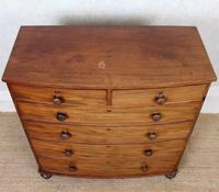 Regency Bowfront Chest of Drawers Mahogany (2 of 9)