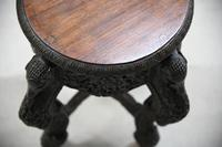 Anglo Indian Padouk Side Table (4 of 11)