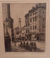 Limited Edition Etching by JF Primm, Birmingham (2 of 4)