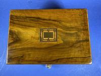 Victorian Olive Wood Jewellery Box (10 of 10)