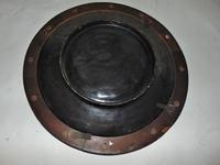 Large Wilhelm Schiller Pottery Dish, Framed (4 of 7)