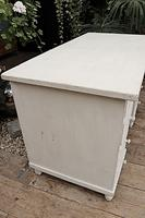 Fabulous! Old Pine / White Painted Desk / Dressing Table - We deliver! (5 of 11)