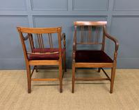Set of 8 Georgian Mahogany Dining Chairs (14 of 16)