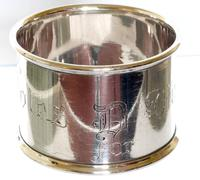 Suffragette Silver Napkin Ring - Birmingham 1917 (2 of 5)