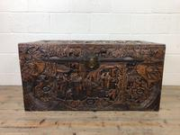 Antique Chinese Camphor Wood Trunk (4 of 14)