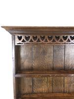 Early 20th Century Antique Oak Pot Board Welsh Dresser (7 of 18)