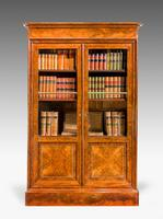 19th Century Walnut Bookcase/Chinese Cabinet (2 of 5)