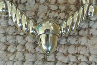 Fine Early 19th Century Brass Door Knocker Acorn in Hand Regency Period (4 of 9)