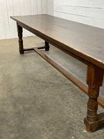 Wonderful Antique Large Refectory Farmhouse Dining Table (10 of 31)