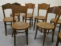 Harlequin Set of 8 French Bistro or Cafe Bentwood Chairs (3 of 7)