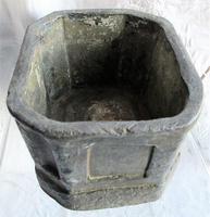 Antique English Georgian Lead Tobacco Box (6 of 8)