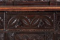 Large 18th Century Antique Carved Oak Dresser c.1740 (6 of 8)