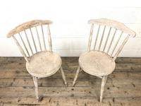 Pair of Rustic Antique Penny Chairs (3 of 9)