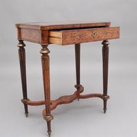 19th Century Inlaid Mahogany Dressing Table (4 of 13)
