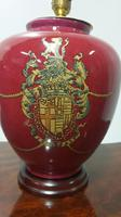 Pair of Coat of Arms Lamp Bases (2 of 4)