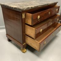 French Empire Commode with Gilt Lions Paw Feet (7 of 10)