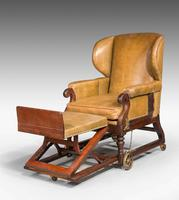 19th Century Invalids' Chair, Stamped J. Ward (4 of 8)