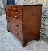 Antique Mahogany Chest of Drawers on Bracket Feet (3 of 12)