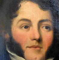 Fine Regency Period Oil Portrait of a Gentleman (8 of 9)