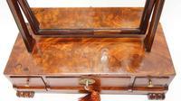 Regency  Mahogany  3 drawer dressing table mirror (10 of 17)