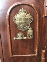 Antique Hopkins Birmingham Cast Iron Compact Safe with 2 Keys (5 of 9)