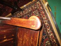 19th Century Painted Lambing Chair (6 of 6)