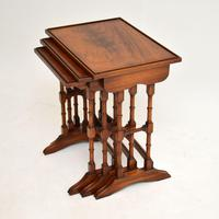 Antique Georgian Style Mahogany Nest of Tables (2 of 10)