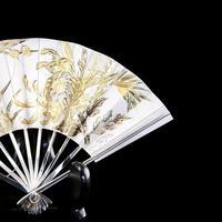 Vintage Japanese Solid Silver Fan Sensu/o-gi c.1960 (5 of 14)