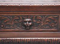 Superb Quality 19th Century Oak Box Settle (16 of 16)