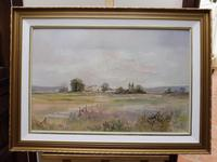 Large oil tranquil landscape artist Barbara Coner (free shipping to mainland england) (3 of 10)