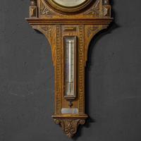 Oak Aneroid Barometer (4 of 8)