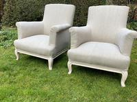 Pair of Large French Armchairs (5 of 7)