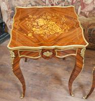 French Gilt Stool Antique Empire Seat c.1920 (2 of 7)