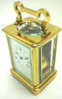 Large Classic Antique French 8-day Gong Striking Repeating Carriage Clock c.1880 (4 of 10)