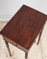 Regency Mahogany Side Table (4 of 7)