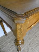Scottish 19th Century Oak Hall Table (3 of 10)