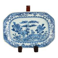 Pair of 18th Century Qianlong Dishes (3 of 8)