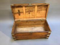 Campaign Camphor Chest Trunk (9 of 11)