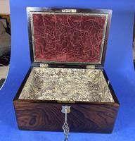 Victorian Rosewood Jewellery Box (3 of 17)