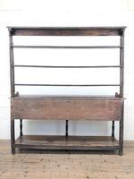 18th Century Welsh Oak Pot Board Dresser (10 of 10)