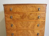 Burr Walnut Chest of Drawers c.1930 (12 of 12)