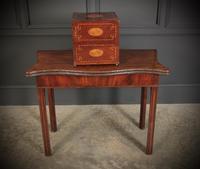 Inlaid Mahogany Decanter Box (14 of 15)
