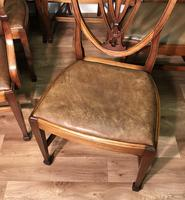 Quality Set of Eight Mahogany Dining Chairs (5 of 18)