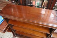 English Mahogany Bookcase (4 of 4)