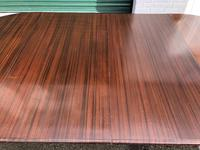 Antique Mahogany 8Ft Wind Out Extending Dining Table (11 of 14)